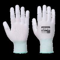 Поліуританові рукавички  PORTWEST A121 колір Білий