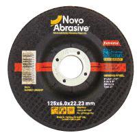 Круг зачисний по металу 125*6,0*22 мм Novoabrasive
